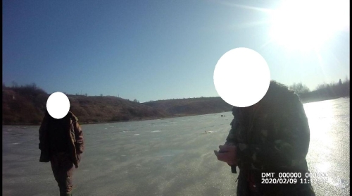 Порушення правил рибальства, поблизу с. Бережанка, - Тернопільський рибоохоронний патруль