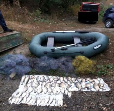 Тернопільський рибоохоронний патруль підвів підсумки роботи за вересень
