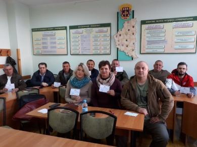 Підвищення рівня компетентності державних службовців Тернопільського рибоохоронного патруля